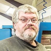 John Nielsen, maskinarbejder hos Vestjysk Rustfri Montage