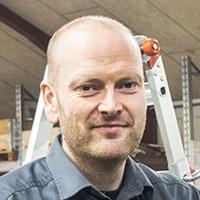 Lindy Højbjerg, smed hos Vestjysk Rustfri Montage