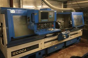 Ecoca CNC drejebænk hos Vestjysk Rustfri Montage i Varde