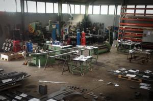 Maskinparken hos Vestjysk Rustfri Montage spænder vidt og bredt