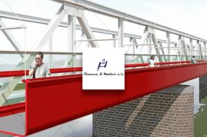 Vestjysk Rustfri Montage ApS har blandt andet lavet dele til broarbejde for Ommen og Møller A/S