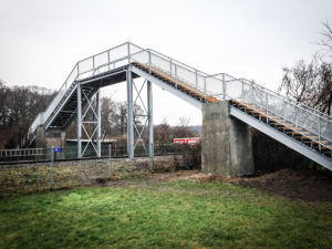Produktion og montage af bro i Århus