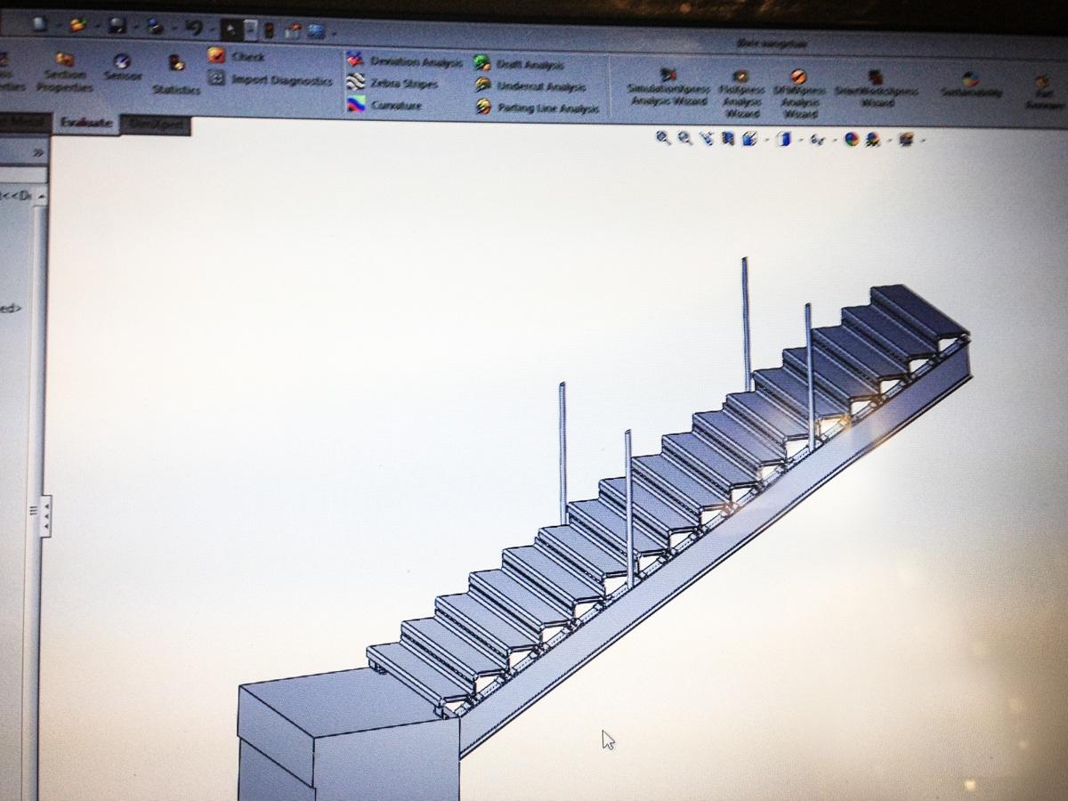 Produktion og mProduktion og montage af bro i Århusontage af bro i Århus