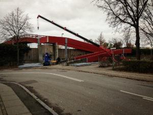 Bro i Hvidovre lavet af Vestjysk Rustfri Montage