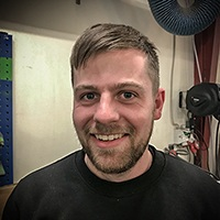 Johnny Laursen, Smed hos Vestjysk Rustfri Montage