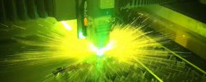 Laserskæring hos Vestjysk Rustfri Montage