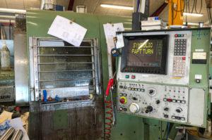 CNC drejebænk gennemboring Ø40 MORISEIKI