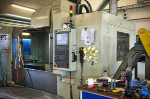 CNC fræser 1500x800x800 FIRST