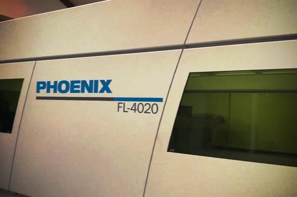 Phoenix FL-4020 laserskærer og fiberskærer