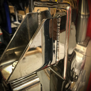 Forhøjet Mobil Minor - Mirror Polished - Januar 2020