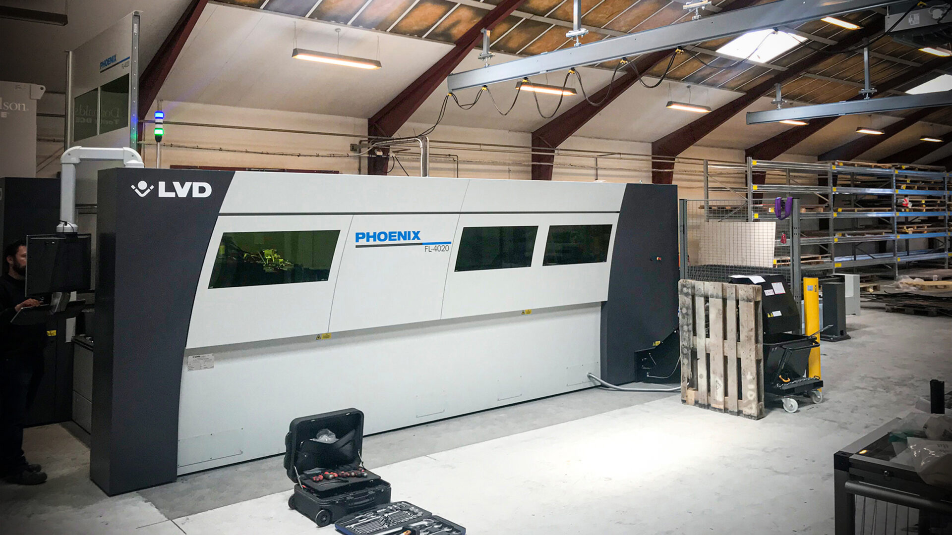 PHOENIX 10 kW LVD fiberlaser skærer