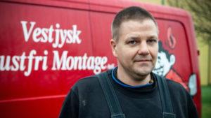 Ole Guldager, Smed hos Vestjysk Rustfri Montage ApS i 25 år