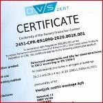 DVS certifikat