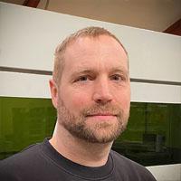 Lars Korsbro, afdelingsleder, Laserafdeling
